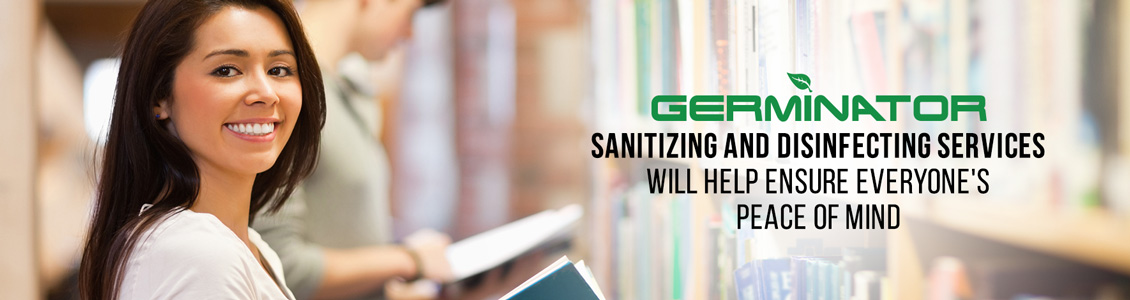 Germinator's Library Sanitizing and Disinfecting Service Will Help Ensure Peace of Mind