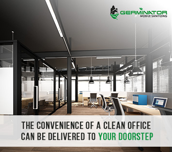 Picture of an Office Sanitized by Germinator Mobile Sanitizing