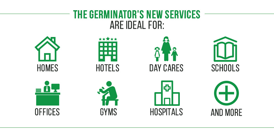 Picture of Ideal Location for The Germinator's New Sanitizing Services