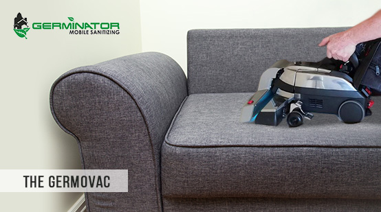 Picture of The Germovac Used in Furniture Sanitizing