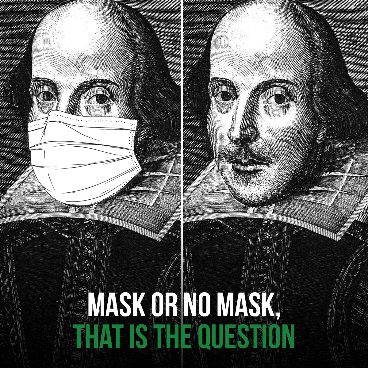 Mask or No Mask, That Is the Question