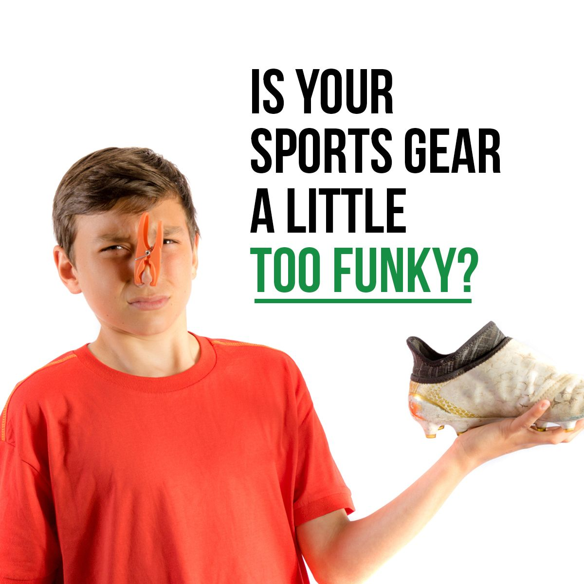 Is Your Sports Gear a Little Too Funky?