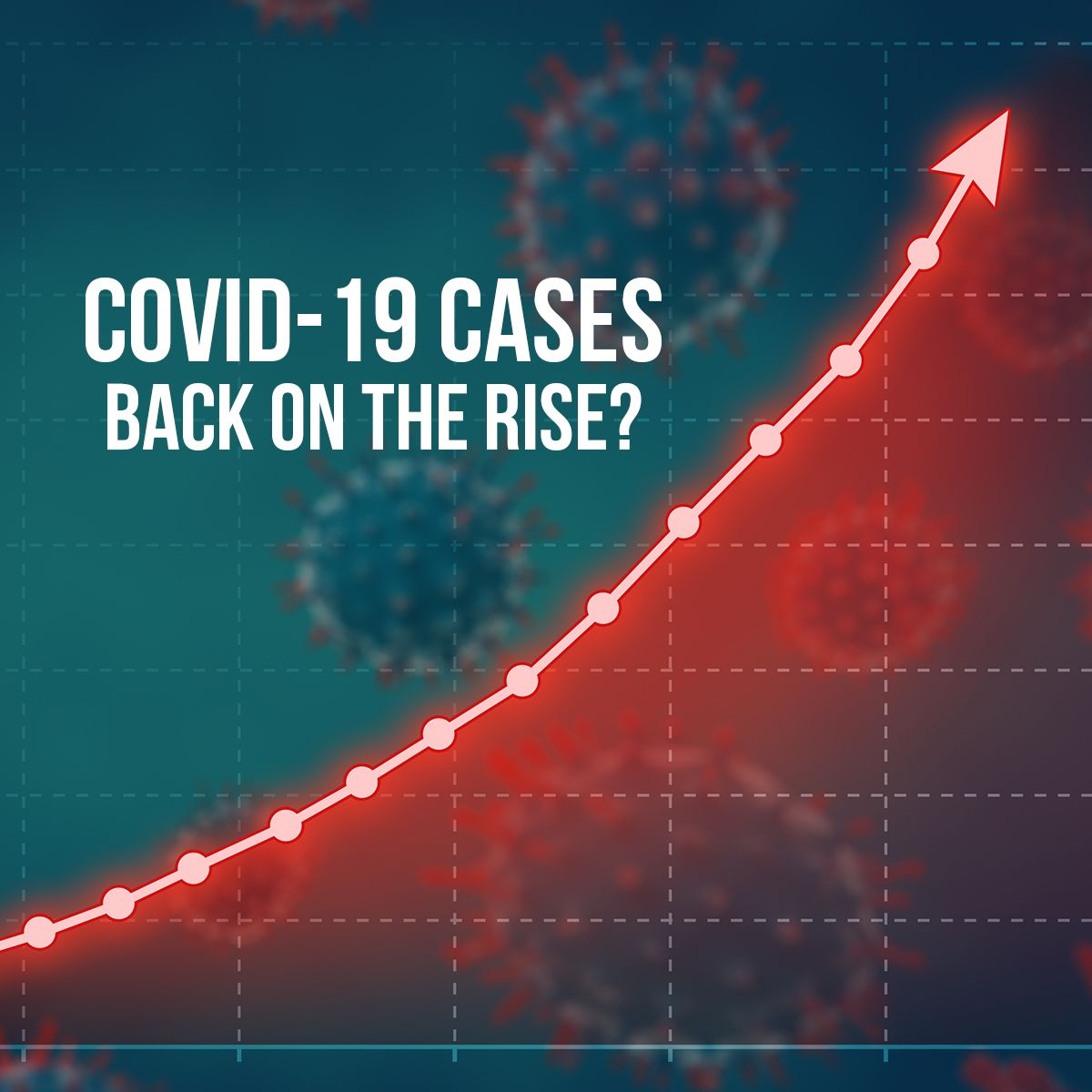 COVID-19 cases back on the rise?