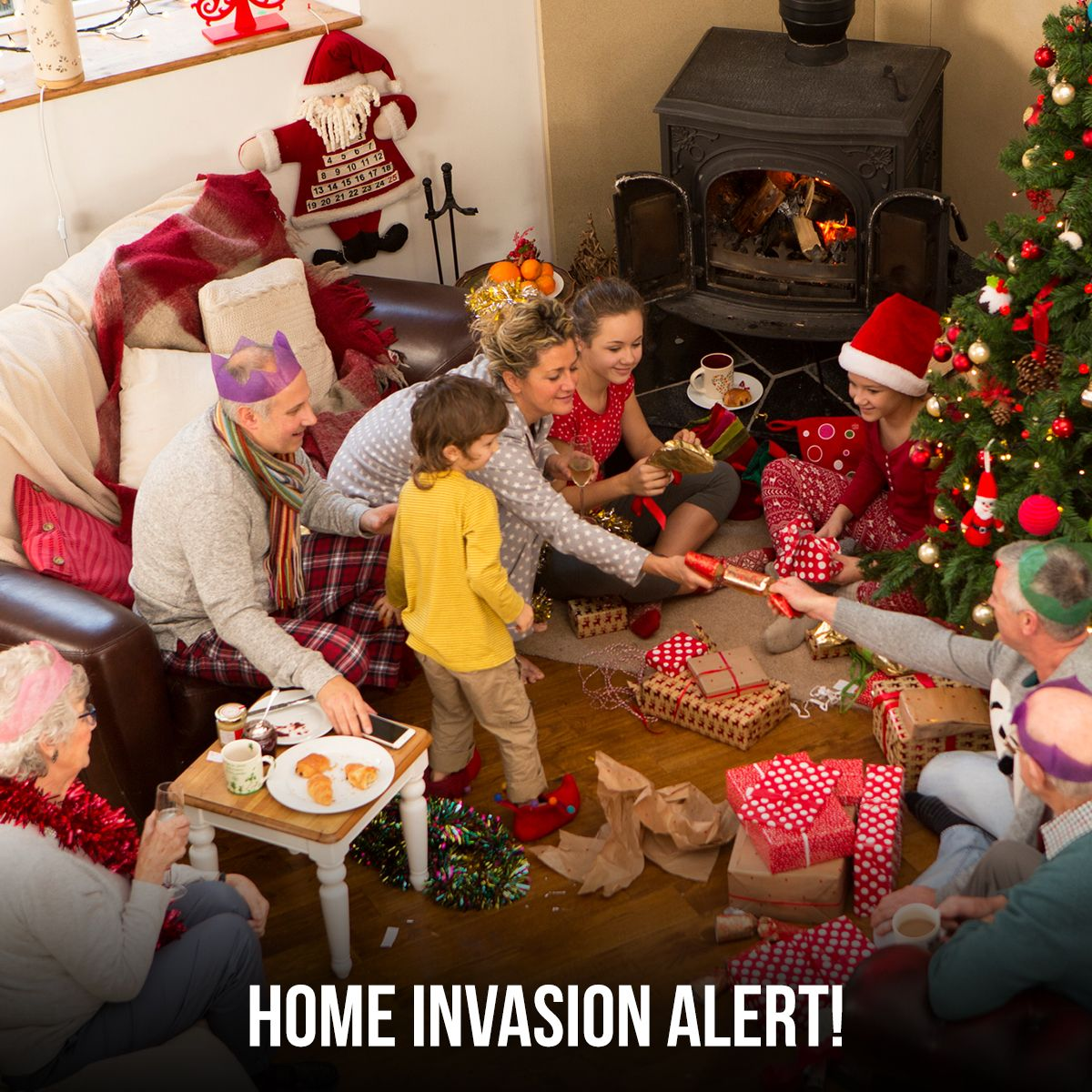 Home Invasion Alert!